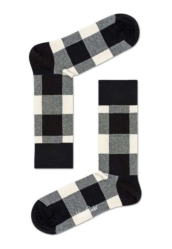 Happy Socks Geschenkbox BLACK WHITE GIFT BOX XBLW09-9003 Anthrazit – Bild 2