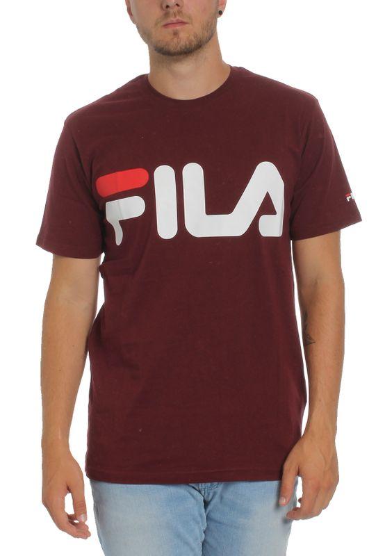 Fila T-Shirt Herren URBAN LINE CLASSIC LOGO TEE  680427 D10 Tawny Port – Bild 1