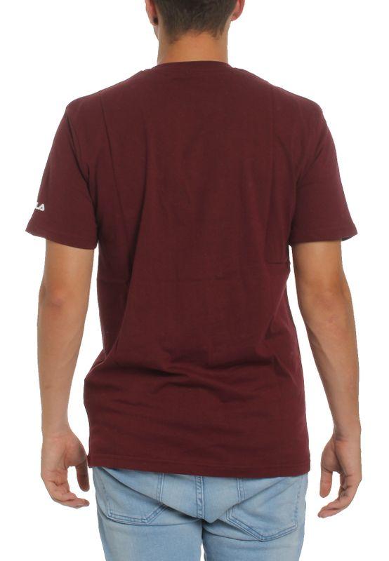 Fila T-Shirt Herren URBAN LINE CLASSIC LOGO TEE  680427 D10 Tawny Port – Bild 2