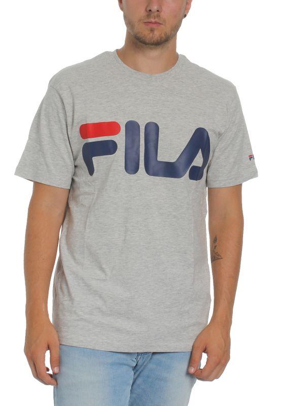 Fila T-Shirt Herren URBAN LINE CLASSIC LOGO TEE  680427 J42 Light Grey – Bild 1