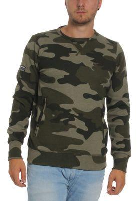 Superdry Herren Sweater ORANGE LABEL URBAN CREW Urban camo – Bild 0
