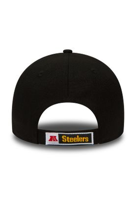New Era The League 9Forty Adjustable Cap PITTSBURGH STEELERS Schwarz – Bild 1