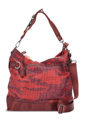 George Gina & Lucy Tasche 100 PEACHES red camou 444 Rot – Bild 1
