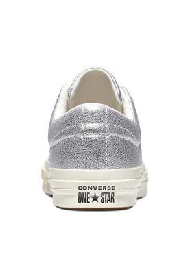 828789f7fbe Converse Sneaker ONE STAR OX 161590C Silber – Bild 3 ...