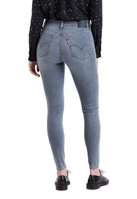 Levis Damen Jeans 720 HIGH RISE SUPER SKINNY 52797-0023 Grau – Bild 2