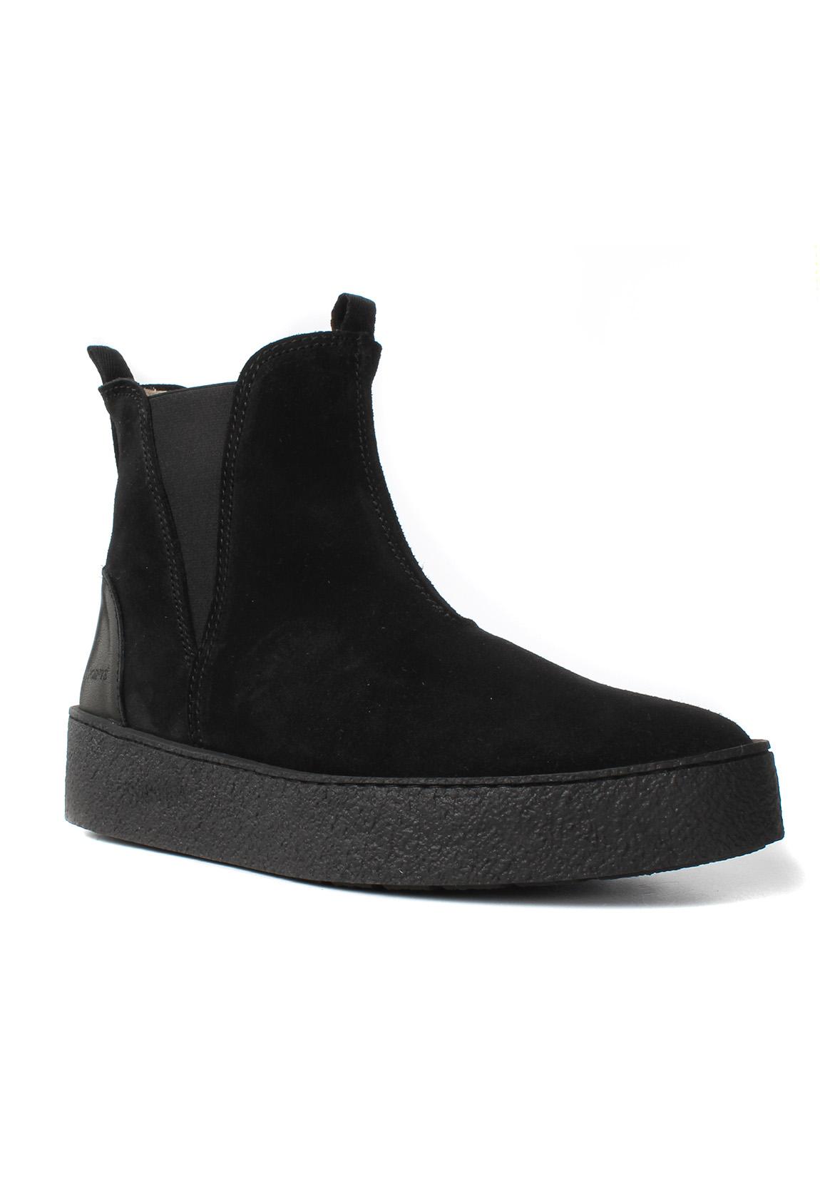 Ten Points Chelsea Boots Women JOHANNA 266002 Schwarz Black 101