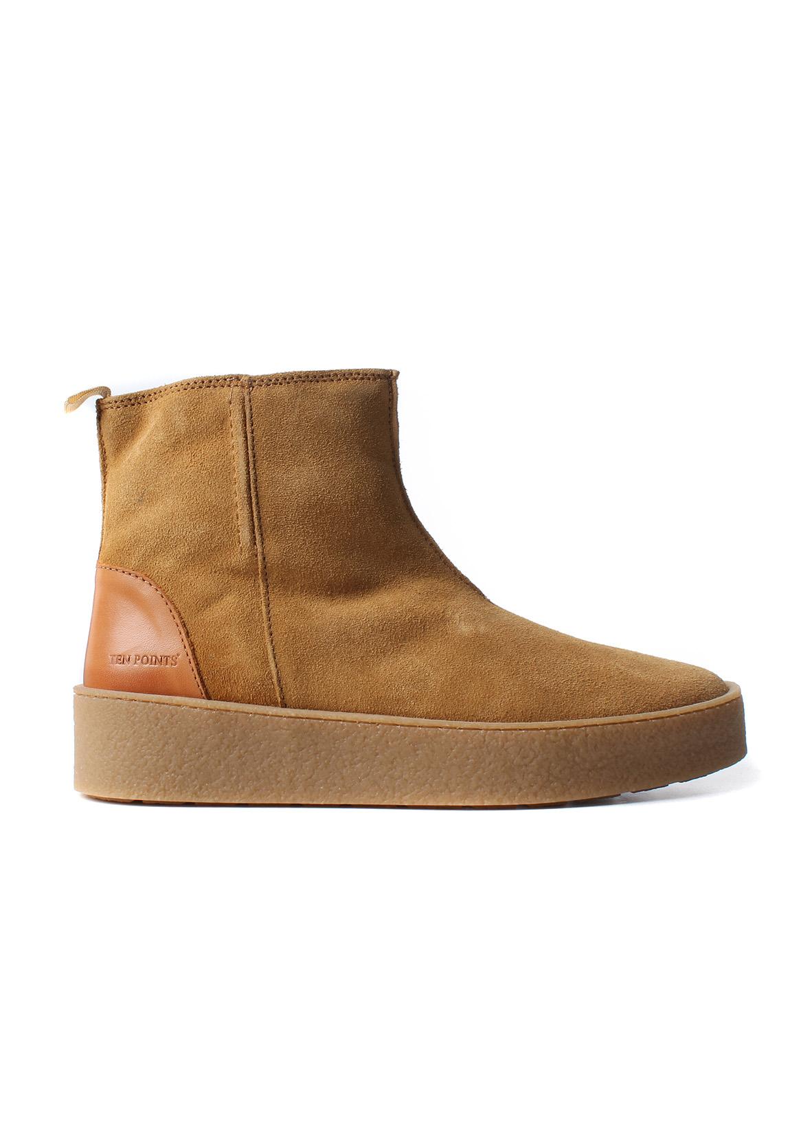 ten points chelsea boots women johanna 266001 beige cognac. Black Bedroom Furniture Sets. Home Design Ideas