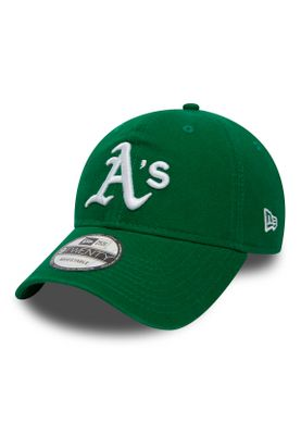 New Era Washd Team 9Twenty Adjustable Cap OAKLAND ATHLETICS Grün