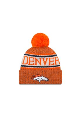 New Era ONF18 Sport Knit Bommelmütze DENVER BRONCOS Orange – Bild 0