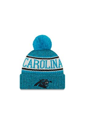 New Era ONF18 Sport Knit Bommelmütze CAROLINA PANTHERS Blau – Bild 0
