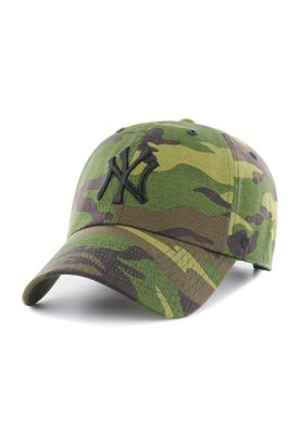 47 Brand Camo Unwashed Clean Up Strapback NY YANKEES B-CAMUN17GWSNL-CMA Camouflage – Bild 0