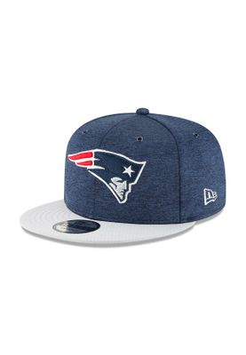 New Era ONF18 9Fifty Snapback Cap NEW ENGLAND PATRIOTS Dunkelblau Grau – Bild 0