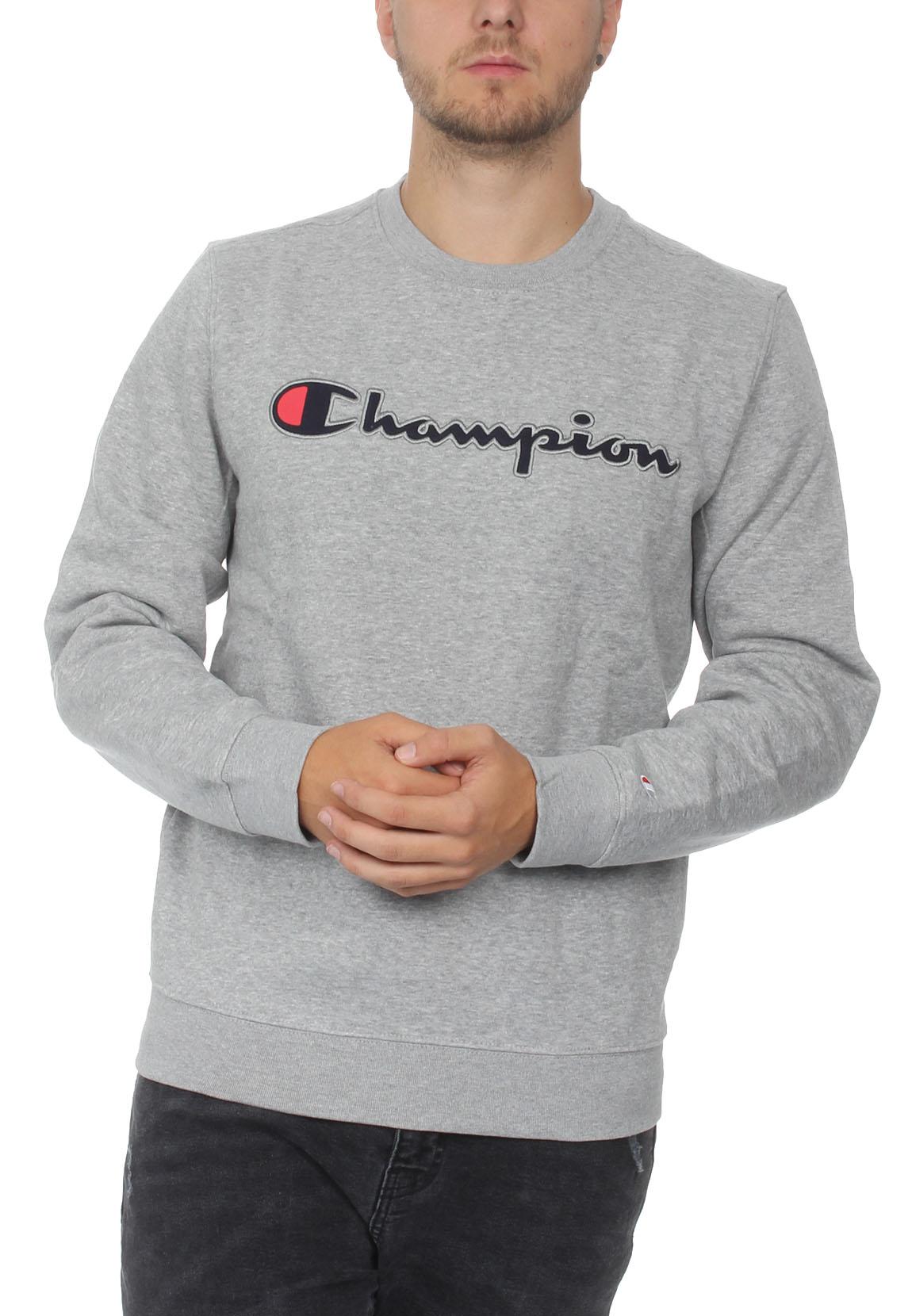 Détails sur Champion Sweat shirt homme 212067 f18 em006 oxgm Gris afficher le titre d'origine