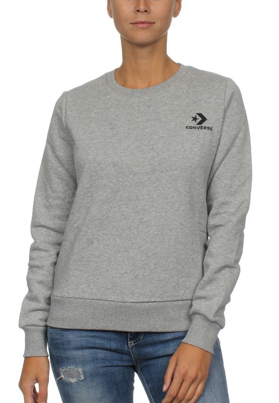 Details about Converse Sweater Ladies Star Chevron Po Hoodie 10008819 White 103
