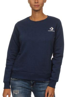Converse Sweatshirt Damen STAR CHEVRON EMB CREW 10008820 Navy 426 – Bild 0