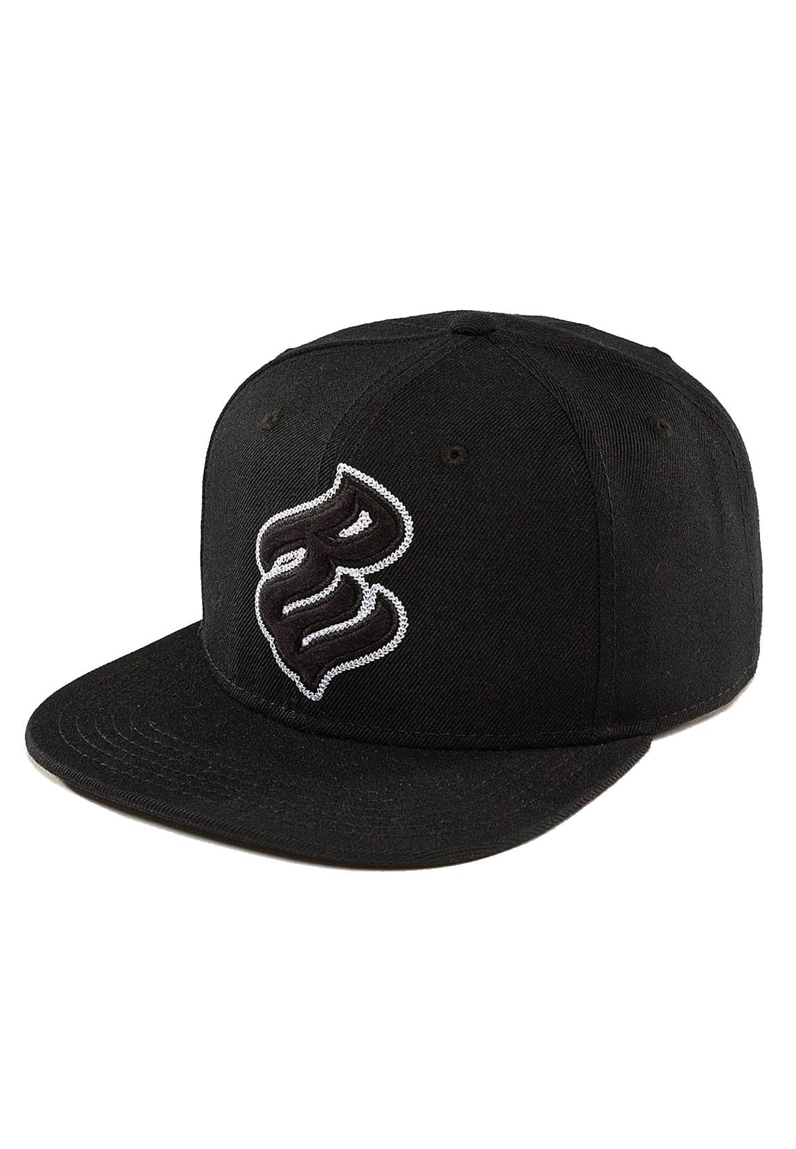 rocawear cap herren big logo rwca008blk schwarz black. Black Bedroom Furniture Sets. Home Design Ideas