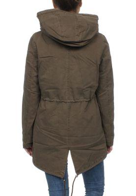 Superdry Jacke Damen ROOKIE SHERPA MULTI JACKET Khaki  – Bild 3
