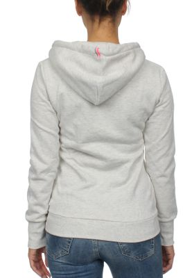 Superdry Damen Zipper LA ATHLETIC Trady Grey Marl – Bild 1