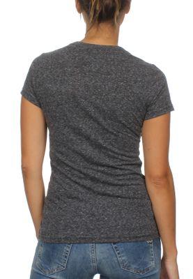 Superdry Damen T-Shirt WESTERN ROPE Charcoal Rugged – Bild 1