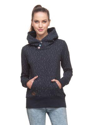 Ragwear Sweater Damen CHELSEA HEARTS 1821-30015 Dunkelblau Navy 2028