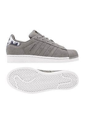 Adidas Originals Sneaker Damen SUPERSTAR B37261 Grau – Bild 0