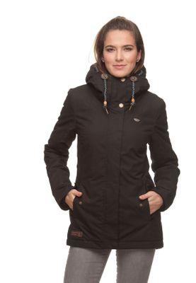Ragwear Jacke Damen MONADE 1821-60017 Schwarz Black 1010