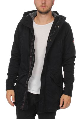 Superdry Jacke Herren NEW MILITARY PARKA Super Dark Navy – Bild 1