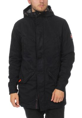 Superdry Jacke Herren NEW MILITARY PARKA Super Dark Navy – Bild 0