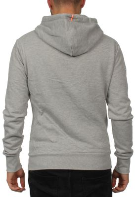 Superdry Zipper Herren L.A. ZIPHOOD Grey Marl – Bild 1