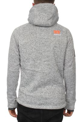 Superdry Zipper Herren STORM DOUBLE ZIPHOOD Light Grey Grit – Bild 2
