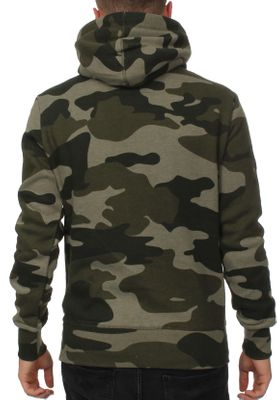 Superdry Sweater Herren ORANGE LABEL URBAN HOOD Urban Green Camo – Bild 1