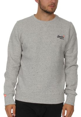 Superdry Pullover Herren ORANGE LABEL CREW Anchor Grey Grit  – Bild 0