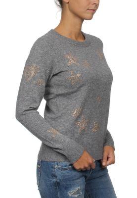 Superdry Pullover Damen GEMSTONE JUMPER Grey Marl – Bild 1