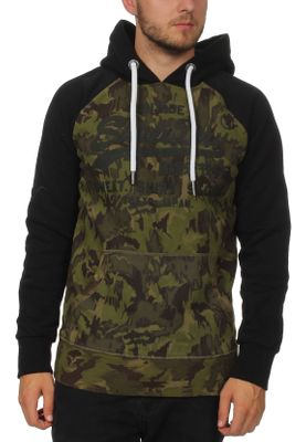 Superdry Sweater Herren SWEAT SHIRT SHOP CAMO RAGLAN H Camo Black  – Bild 0