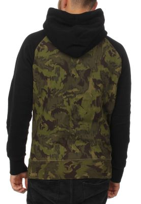 Superdry Sweater Herren SWEAT SHIRT SHOP CAMO RAGLAN H Camo Black  – Bild 1