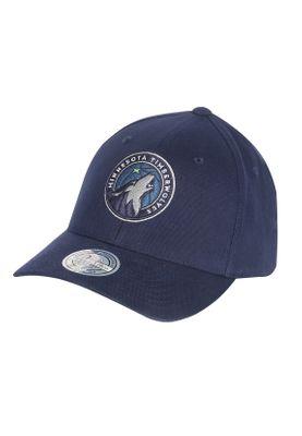 Mitchell & Ness Cap INTL228 MINNESOTA TIMBERWOLVES Blau  – Bild 0