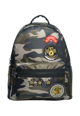 Superdry Tasche MIDI BACKPACK Badged Camo