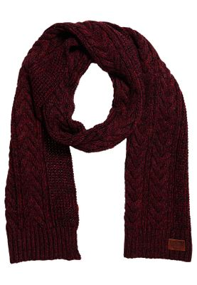 Superdry Schal JACOB SCARF Bright Burgundy Twist