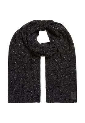 Superdry Schal SURPLUS GOODS TWEED SCARF Dark Charcoal Tweed