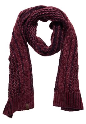 Superdry Schal CANYON SCARF Burgandy Navy