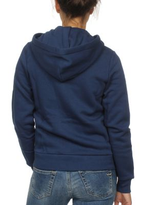 Converse Zipper Damen STAR CHEVRON HOODIE 10008818 Navy 426 – Bild 1
