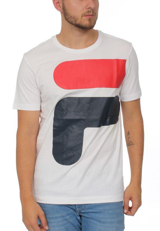 Fila T-Shirt Herren CARTER TEE Weiß M67 Bright White  – Bild 1