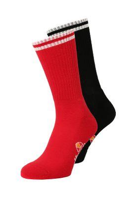 Ellesse Socken TOMMI 2PK SAAY0624 Schwarz Rot Black