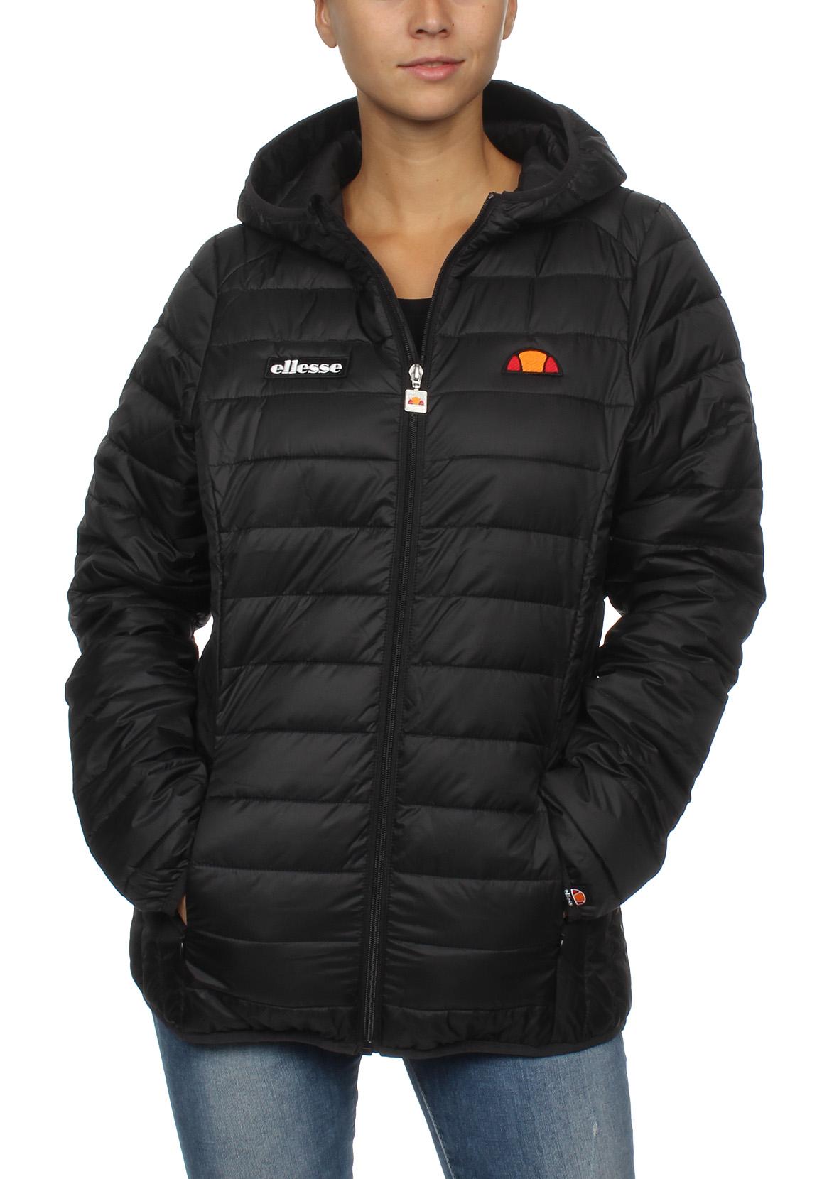 e8f244615822 Details about Ellesse Ladies  Jacket Lompard Padded Jacket Black