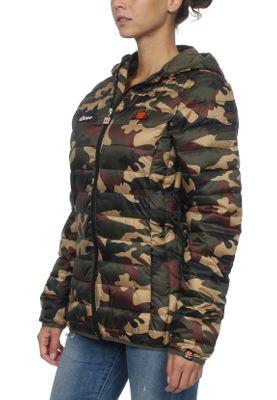 Ellesse Jacke Damen LOMPARD PADDED JACKET Camouflage Camo Print – Bild 1