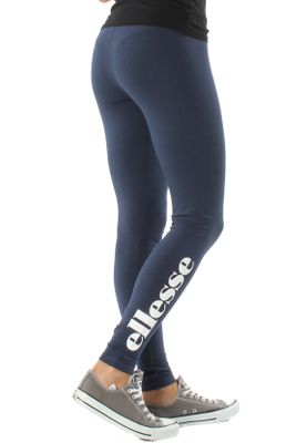 Ellesse Leggings Damen SOLOS 2 LEGGING Dunkelblau Dress Blue – Bild 2