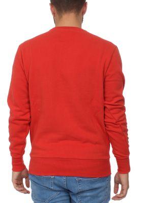 Ellesse Sweater Herren DIVERIA CREW SWEAT Rot Scarlet – Bild 1