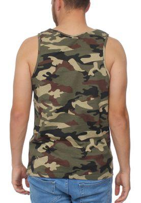 Ellesse Tank Herren FRATTINI VEST Camouflage Camo Print – Bild 1