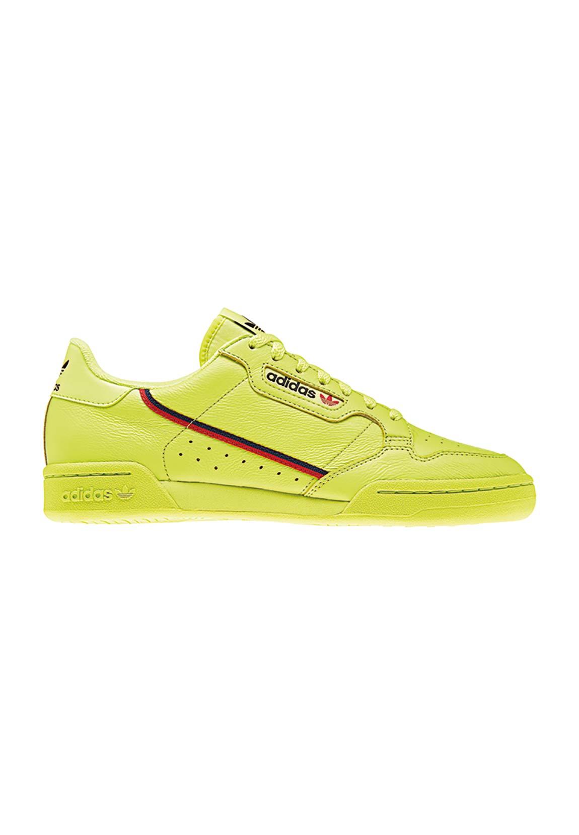 Adidas Originals Sneaker CONTINENTAL 80 B41675 Neongelb | eBay