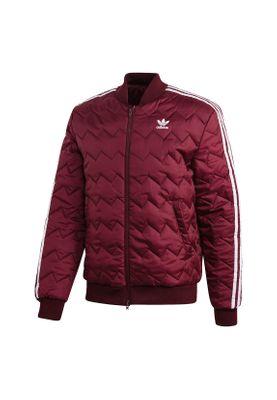 Adidas Originals Jacke Herren SST QUILTED DH5014 Dunkelrot – Bild 0